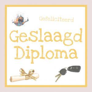 Geslaagd Diploma