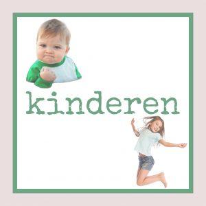 Kids only, groot en klein